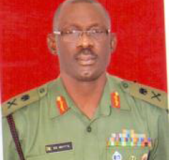 MAJOR GEN EMMANUEL GEORGE WHYTE